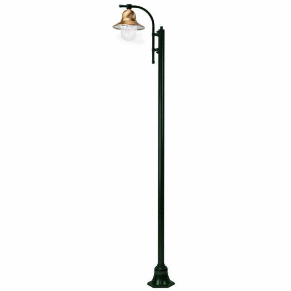 1-lamppuinen Toscane-lyhtypylväs 240 cm, vihreä