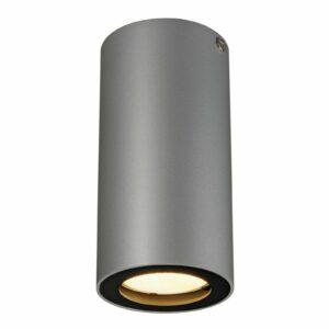 1-lamppuinen kattovalo ENOLA_B CL-1, hopeanharmaa