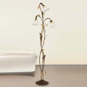 3-osainen lattiavalaisin Giuseppe firenzeläistyyli