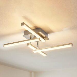 4-lamppu-LED-kattolamppu Laurenzia, himmennin