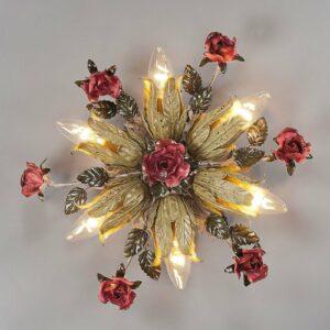6-lamppuinen firenzeläinen kattovalaisin Fiama