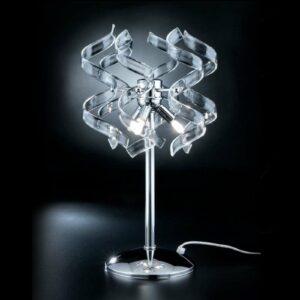 Ainutlaatuinen pöytävalaisin Crystal
