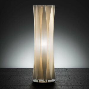Aistikas BACH-pöytävalaisin, korkeus 73 cm, kulta