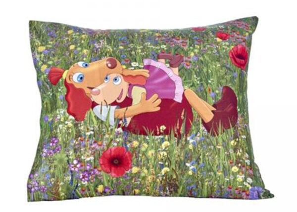 Bradley tyynyliina 50x60 cm Lotte siskon kanssa maalla