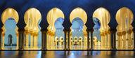 Canvas-taulu Abu Dhabi moskeija 1191