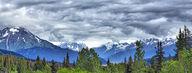 Canvas-taulu Alaskan maisema 913