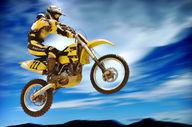 Canvas-taulu Motocross 495