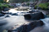 Canvas-taulu Virtaava joki Lappi 223