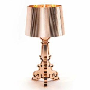 Design-LED-pöytävalaisin Bourgie, kupari