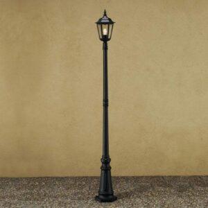 Firenze-lyhtypylväs, 1-lamppuinen, musta