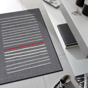 Matto Mikado graphite 75x120 cm