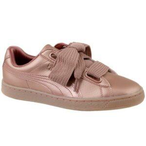 Naisten vapaa-ajan kengät Puma Basket Heart Copper W 365463-01