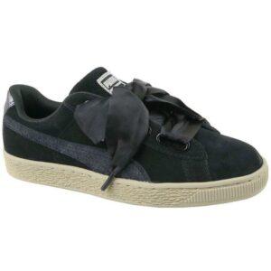 Naisten vapaa-ajan kengät Puma Basket Heart Metallic Safari W 364083-03