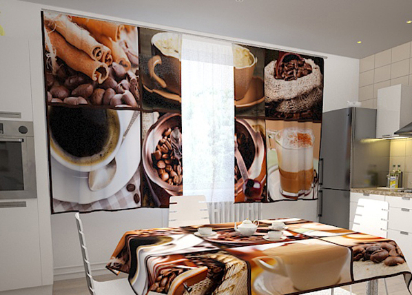 Pimennysverho COFFEE 1, 200x120 cm