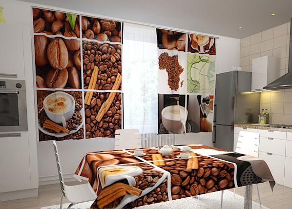 Pimennysverho COFFEE AFRICA 200x120 cm