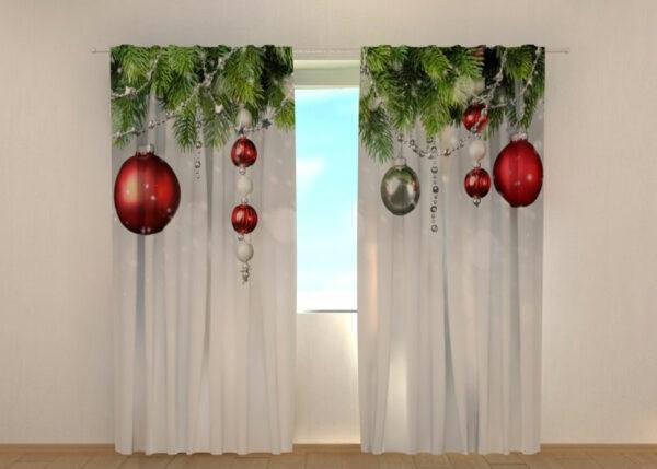 Pimennysverho Christmas Decorations 240x220 cm