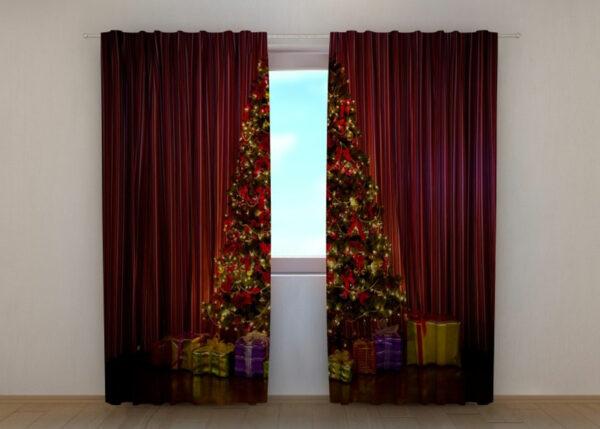 Pimennysverho Christmas Tree 240x220 cm