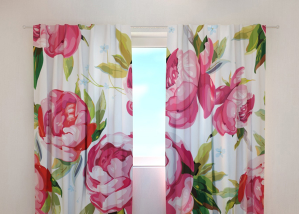 Pimennysverho FLOWER 7, 240x220 cm