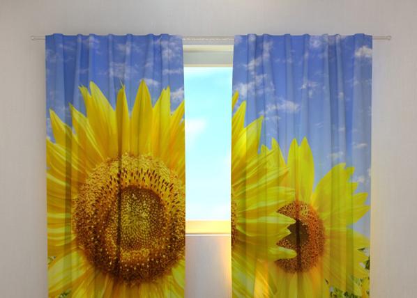 Pimennysverho FLOWERS ON THE SUN 240x220 cm
