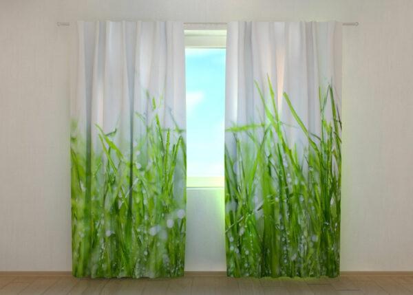 Pimennysverho Fresh Green Grass 240x220 cm