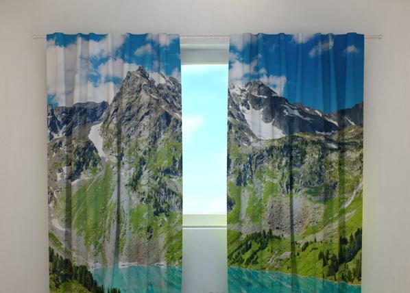 Pimennysverho GLAMOROUS MOUNTAINS 240x220 cm