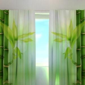 Pimennysverho GREEN BAMBOO 240x220 cm