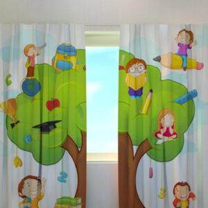 Pimennysverho HAPPY SCHOOL 240x220 cm