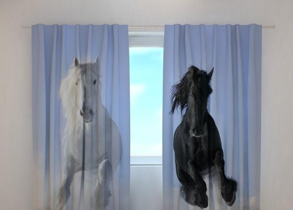 Pimennysverho HORSES 1, 240x220 cm