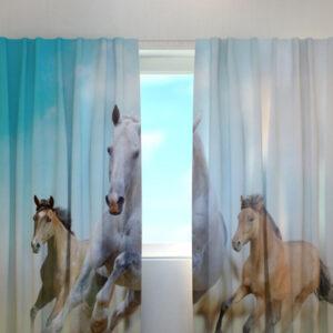 Pimennysverho HORSES 240x220 cm