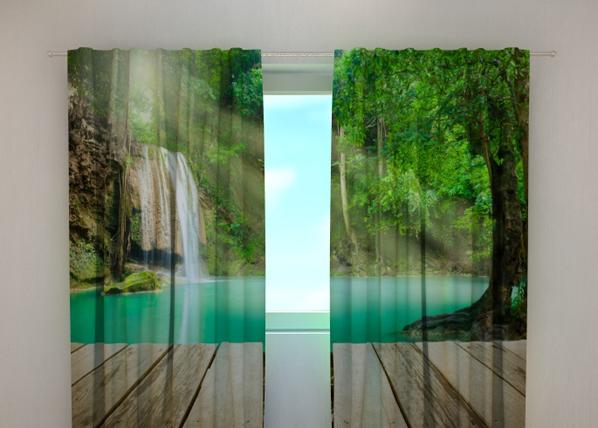 Pimennysverho LAKE AT THE DOORSTEP 240x220 cm