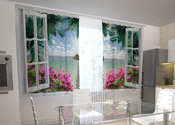 Pimennysverho OPEN WINDOW 200x120 cm