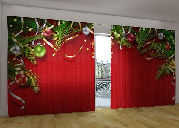 Pimentävä verho CHRISTMAS MAGIC 360x230 cm