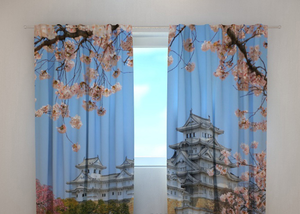 Pimentävä verho JAPAN HIMEJI CASTLE 240x220 cm