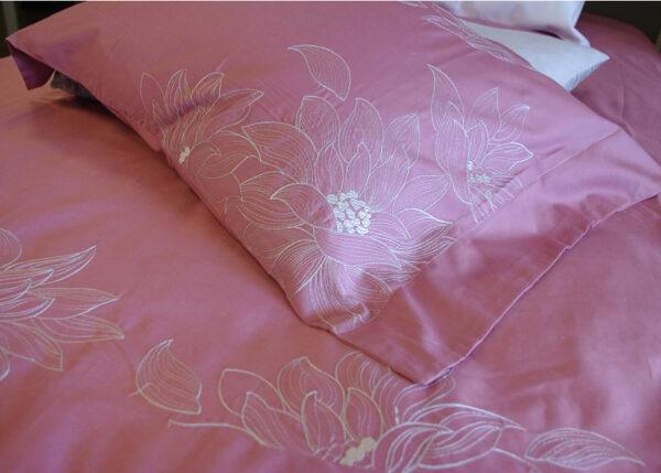 Pussilakanasetti Beauty Home pinkki 150x210 cm