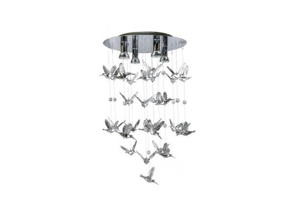 Riippuvalaisin Birds Ø50 cm