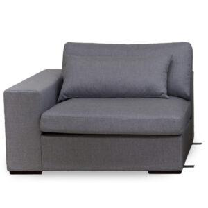 Sohvamoduuli käsinojalla Comforto XL 124,2 cm
