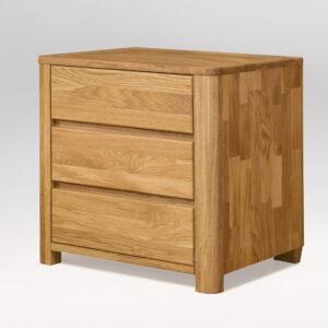 Tammi laatikosto/ yöpöytä Lausenne 30