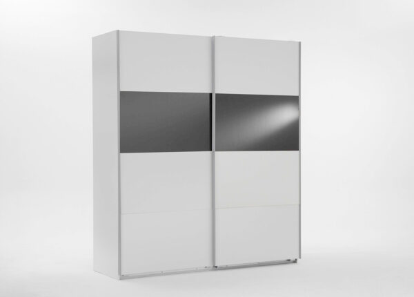 Vaatekaappi liukuovilla EASY PLUS h236x180 cm