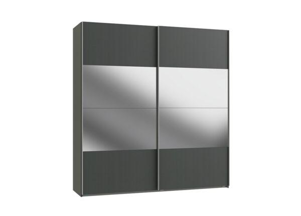 Vaatekaappi liukuovilla EASY PLUS h236x225 cm