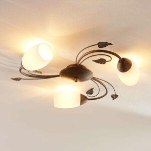 3-lamppuinen LED-kattovalaisin Stefania
