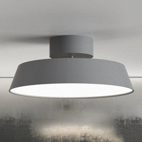 LED-kattovalaisin Alba, käännettävä, harmaa
