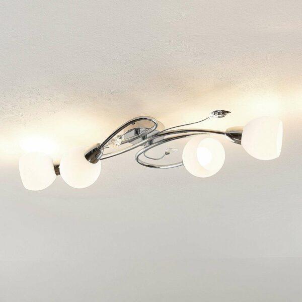 Lindby Taraneh -kattovalaisin, 4-lamppuinen