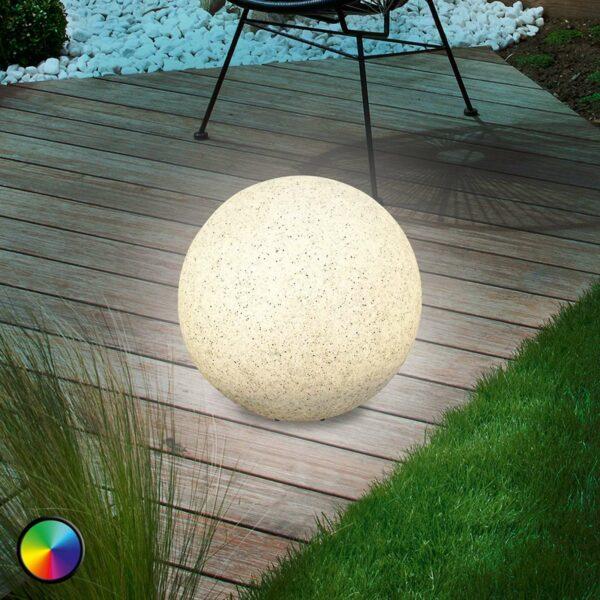 Mega Stone 30 - LED-pallovalaisin aurinkokennolla