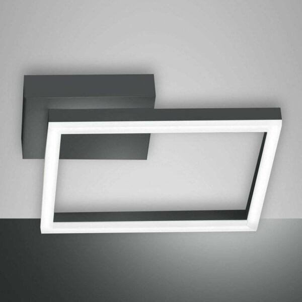 Bard-LED-kattovalaisin, 27x27 cm, antrasiitti