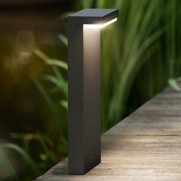 Bustan – kulmikas LED-pollarivalaisin
