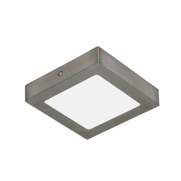 ELC Merina -LED-alasvalo, nikkeli, 17 x 17 cm