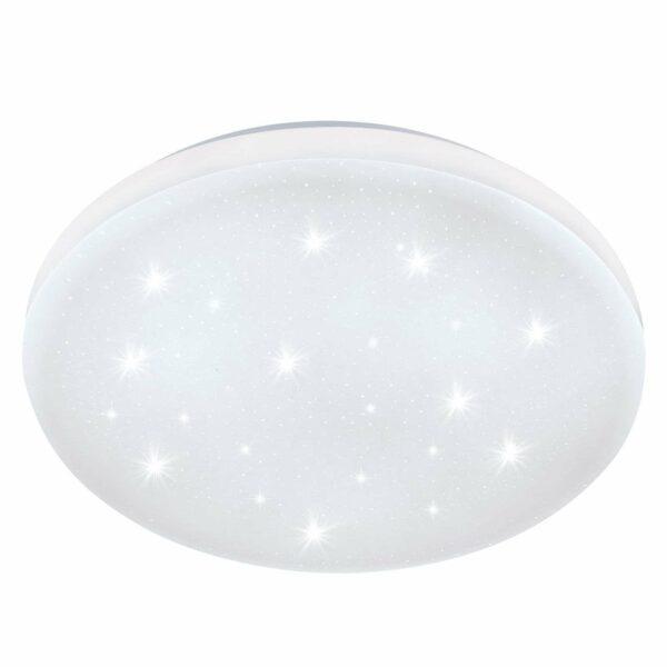 Frania-S-LED-kattovalo kristallitehostein Ø 43 cm
