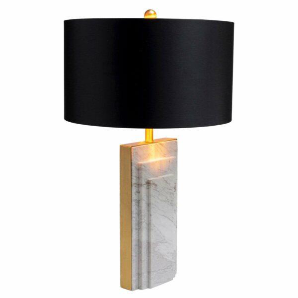KARE Rumba Marble -pöytälamppu, marmoria