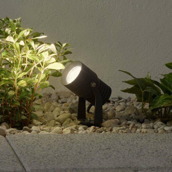 LED-ulkokohdevalaisin Jon, liikkuva valaisinpää