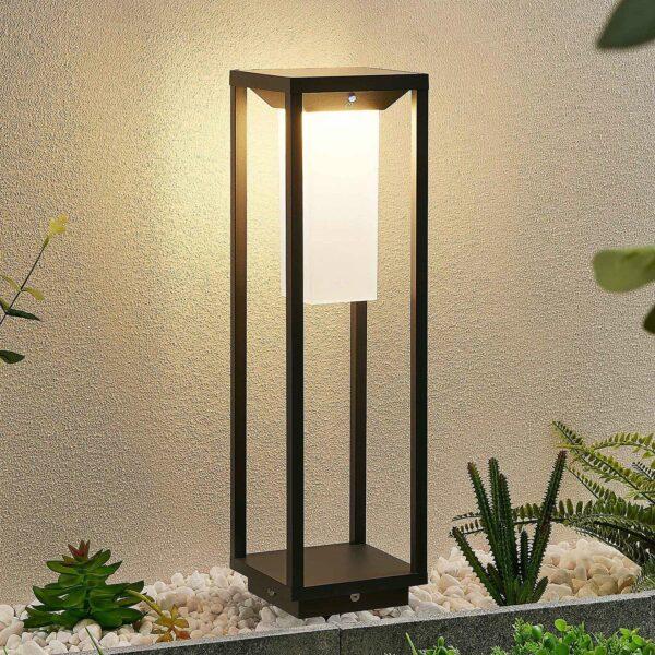 Lucande Eliel -LED-pollarivalaisin, 50 cm
